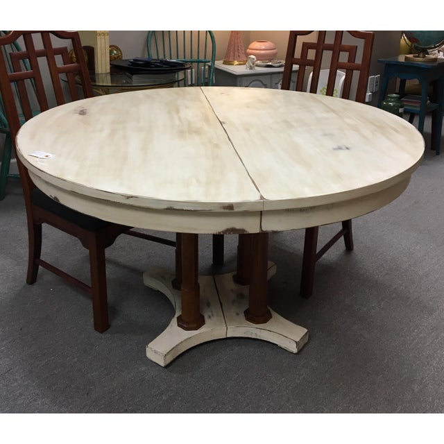 Expandable Round Farm Table - Image 2 of 6