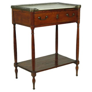 19th Directoire Side Table