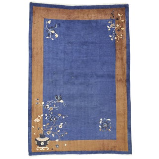 Art Deco Chinese Rug - 6′ × 8′7″