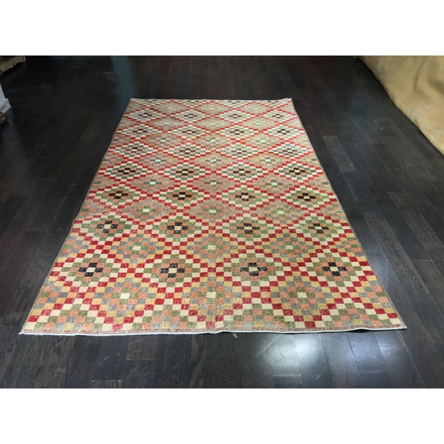Zeki Muran Turkish Rug - 5′8″ × 8′10″ - Image 2 of 6
