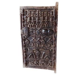 Large Carved Wood Dogon Door Mali