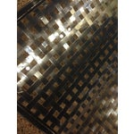 Image of Modern Stainless Steel Lattice Top Coffee Table