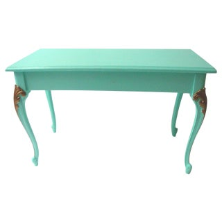 Mid-Century Painted Piano Bench