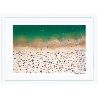 "Gray Malin Large ""Coogee Beach"" (à La Plage) Framed Limited Edition Signed Print"