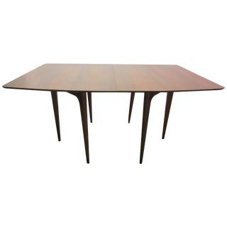 Mid Century Danish Modern Walnut Surfboard Table