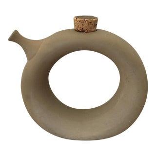 Mid-Century Ceramic Wine Carafe