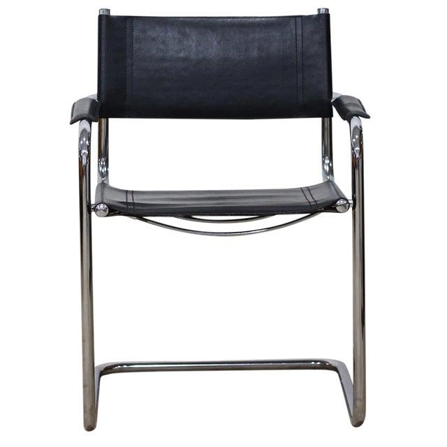 Image of Tubular Chrome Cantilever Chair