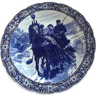 Large Delft Wall Plates - A Pair