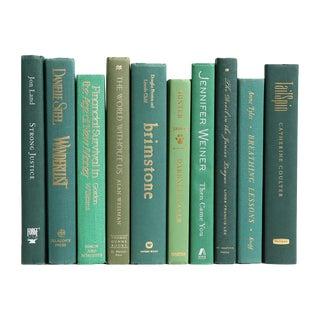 Modern Green Book Decor