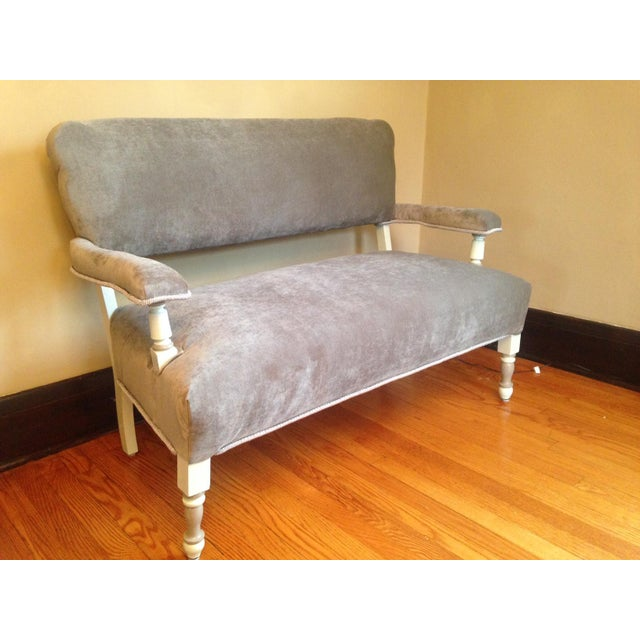 Newly Upholstered Settee - Image 3 of 8