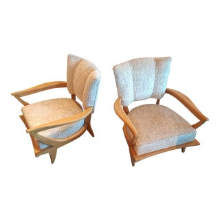 Etienne Martin for Steiner Art Deco Armchairs - A Pair