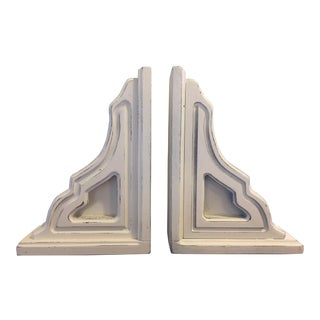 Rustic Farmhouse Corbels Bookend - A Pair