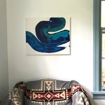 Image of Cool River Acrylic on Canvas Painting