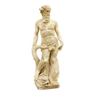 Cast Stone Statue of Neptune