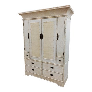 Faux Bamboo Dresser Cabinet by Ficks Reed