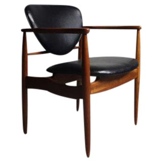 Finn Juhl Mid-Century Modern Walnut Arm Chair