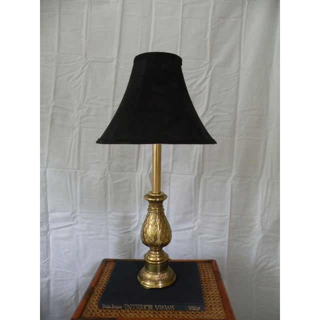 Brass Pineapple Lamp - Image 5 of 5