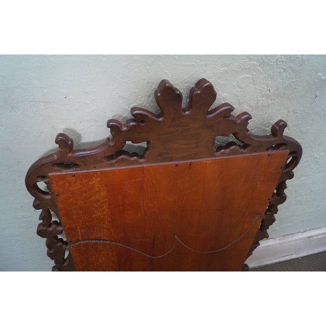 French Louis XV Gold Gilt Carved Wood Frame Mirror - Image 10 of 10