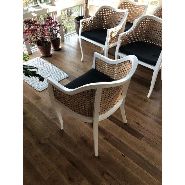 CB2 Tayabas Cane Side Chairs - Set of 6 - Image 4 of 5