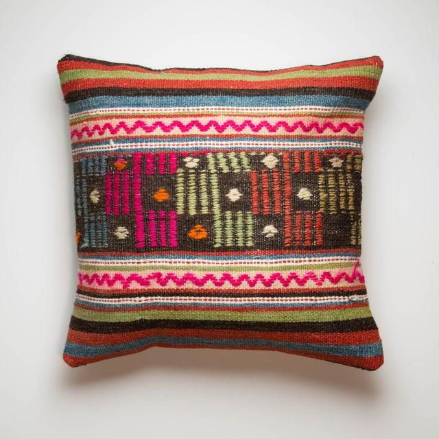 Turkiish Kilim Pillowcase - Image 2 of 3