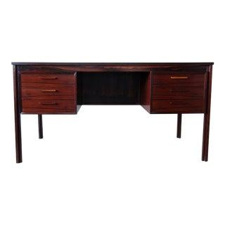 Mid Century Modern Danish Rosewood Desk