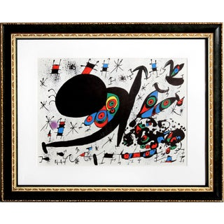 Joan Miro - Homenatge a Joan Prats Offset Litho