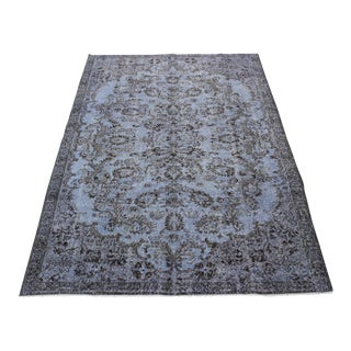 "Traditional Turkish Overdyed Rug - 5'9"" x 8'8"""