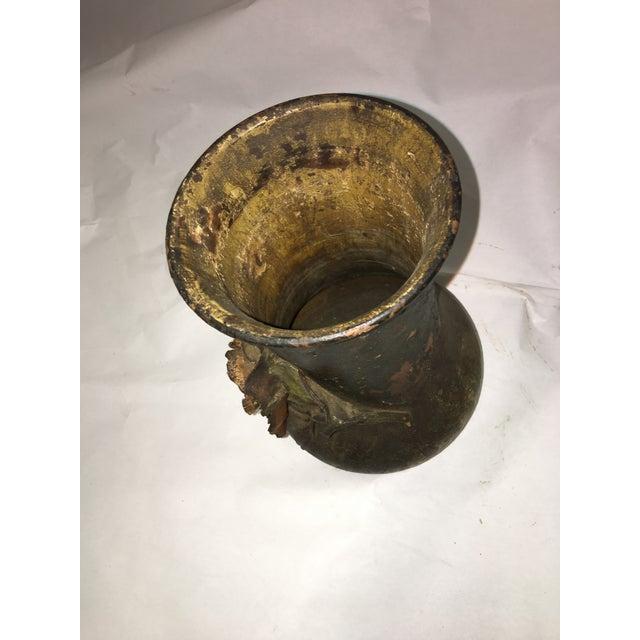 Ceramic Rose Motif Vase - Image 5 of 8