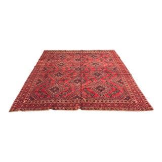 "Vintage Persian Yalameh Area Rug - 7'8"" x 9'7"""