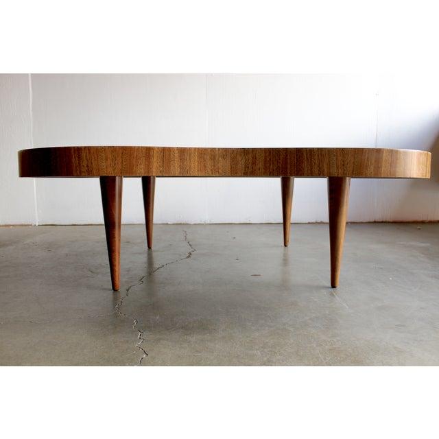 Gilbert Rohde Burl Surrealist 'Cloud' Coffee Table - Image 6 of 11