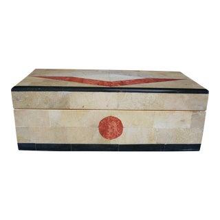 Vintage Stone & Wood Box