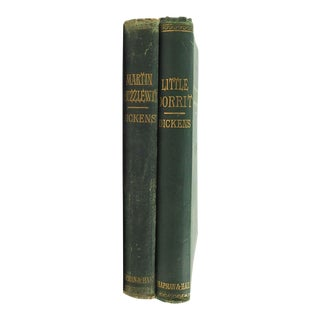 Charles Dickens Novels- Set of 2