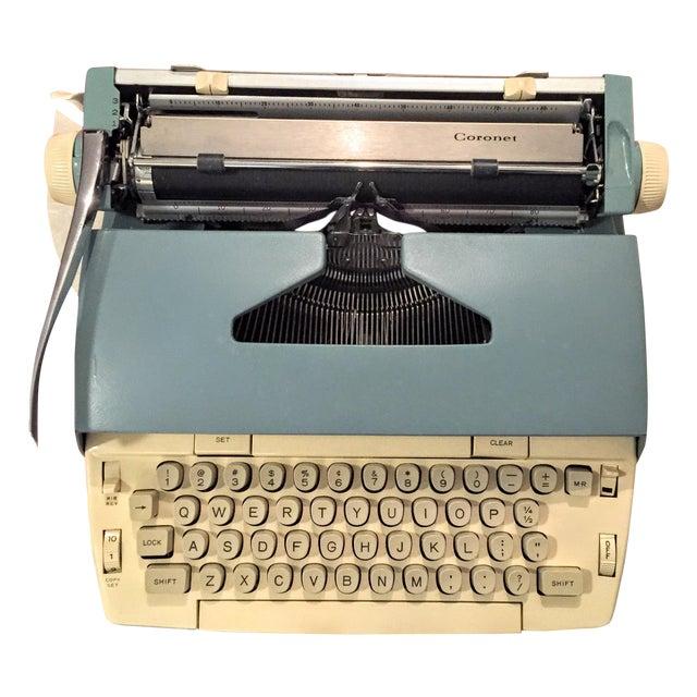 Smith Corona Typewriter 1960s Electric Coronet - Image 1 of 11