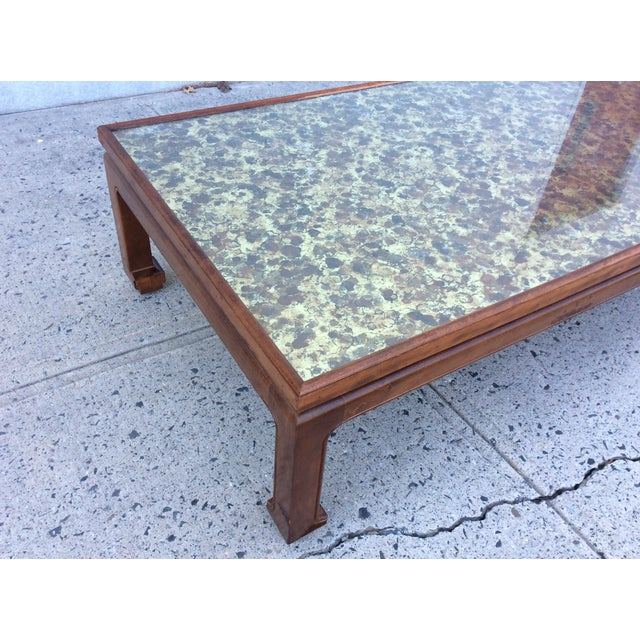 1960's James Mont Style Large Coffee Table - Image 7 of 11