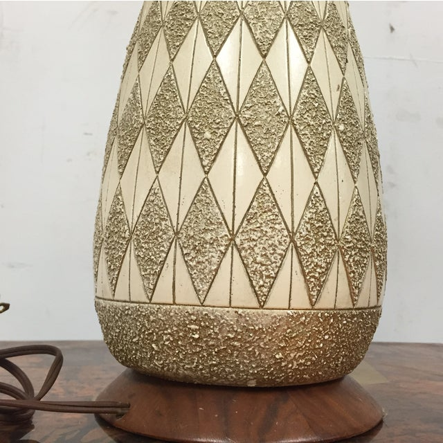 Mid-Century Pottery Table Lamp - Image 5 of 8