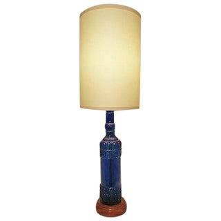 Custom Glass Bottle Table Lamp