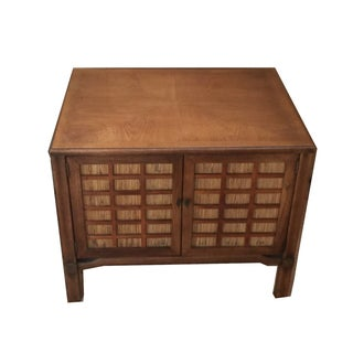 Mid-Century Modern Square Commode