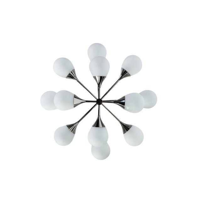 Exceptional Orbital Form Sputnik Chandelier - Image 5 of 6