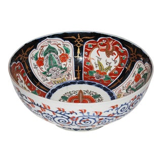 Antique Japanese Imari Ceramic Bowl
