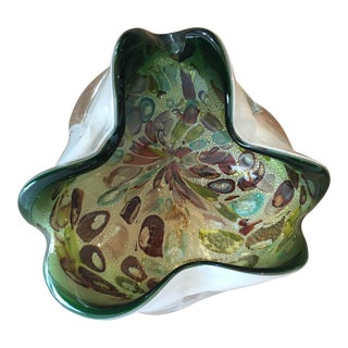 "Murano ""End of Day"" Bowl"