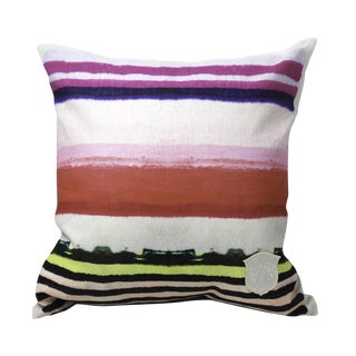 Kristi Kohut Stripe Pillow