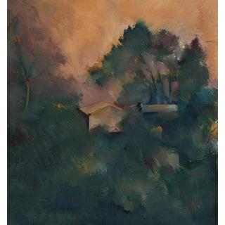 Los Angeles Hillside Oil Painting