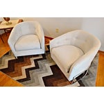 Image of Milo Baughman for Carsons Lounge Chairs - Pair