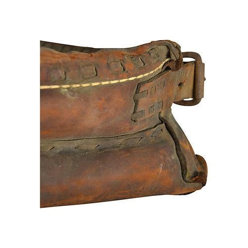 Vintage Equestrian Leather Horse Collar - Image 5 of 5