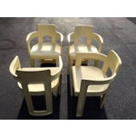 Vintage 1970 S Molded Mod Chairs Set Of 4 Chairish