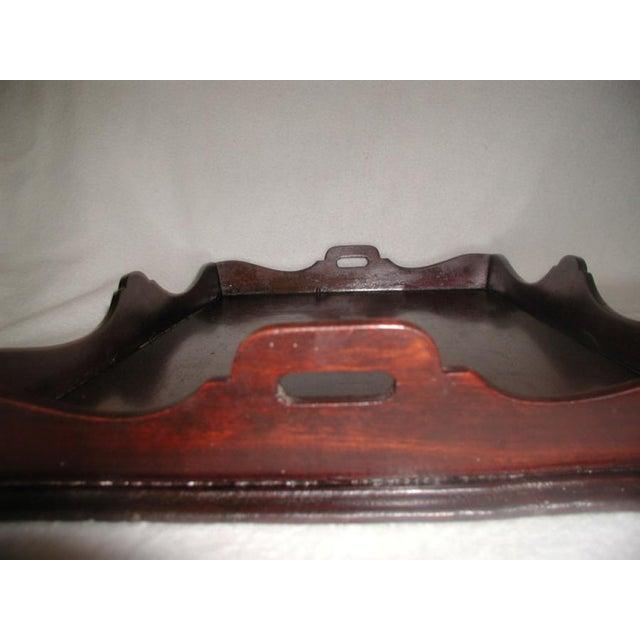 Image of Antique English Mahogany Butlers Tray
