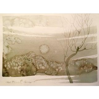 """Colorado Moon"" Painting"