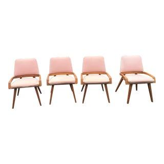 John Keal by Brown Saltzman Dining Room Chairs - Set of 4