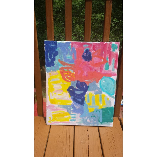 """""""Color Dance"""" Abstract Painting by Susie Kate - Image 3 of 3"""