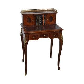 Maitland Smith Mahogany Small Regency Writing Desk
